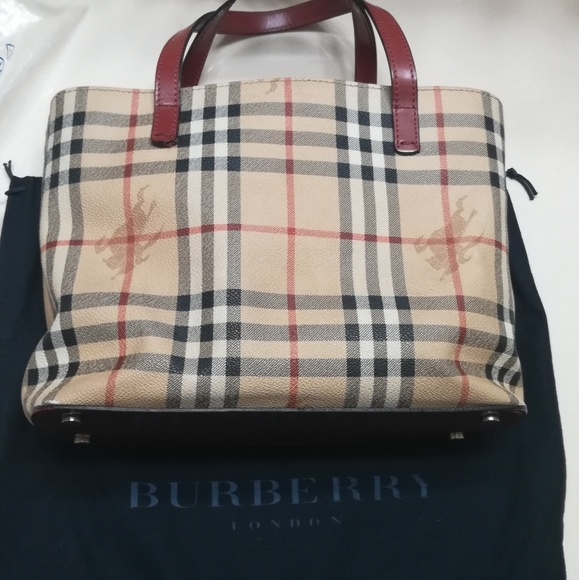 df04037e2 Burberry Handbags - Authentic Burberry Haymarket Check Mini Tote